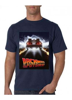 Universal Studios Regreso AL Futuro Camiseta XL T-Shirt Oficial Back TO The Future