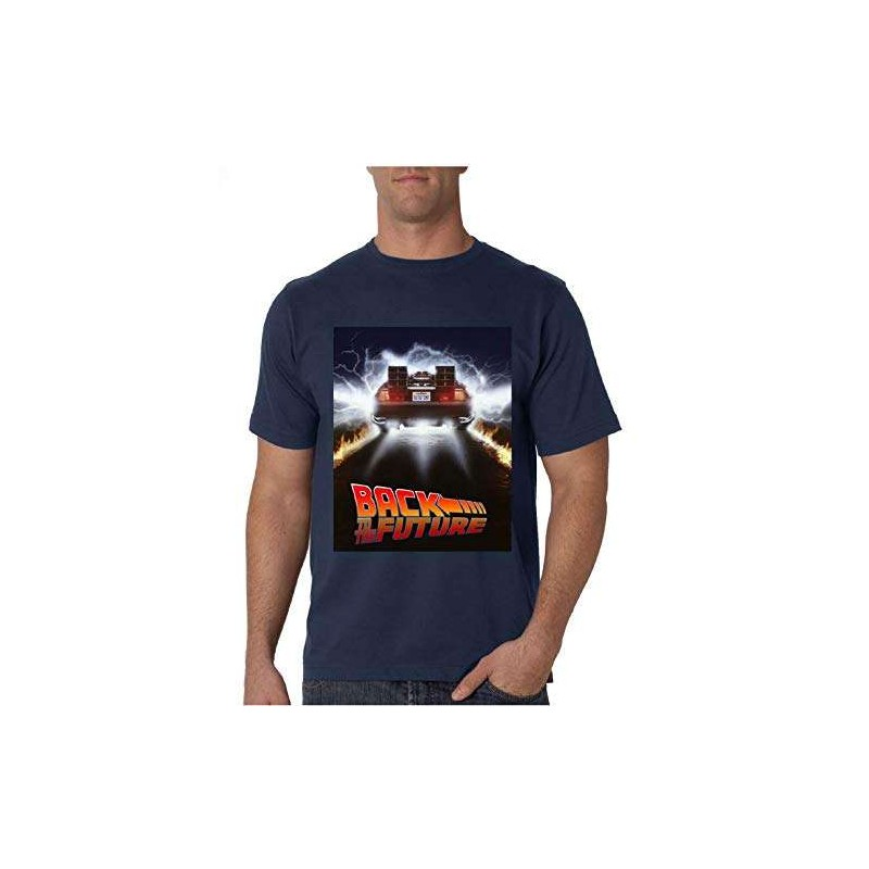 Universal Studios Regreso AL Futuro Camiseta Talla S T-Shirt Oficial Back TO The Future