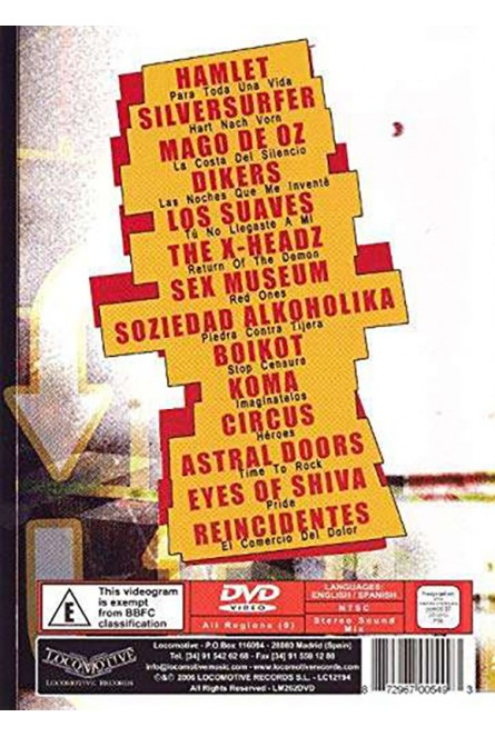 Locomotive Video Vault [DVD]