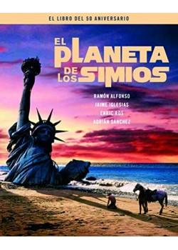 El Planeta de los simios - libro del 50 aniversario [Tapa dura] Adrián Sánchez