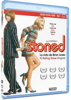 STONED (LA VIDA DE BRIAN JONES) (BLU-RAY+DVD)