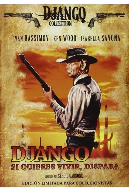 Django, Si Quieres Vivir, Dispara [DVD]