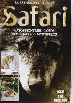 Pack Safari 2: Gatos Monteses + Lobos + Depredadores Mortíferos [DVD]