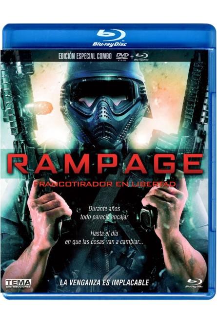 RAMPAGE (FRANCOTIRADOR EN LIBERTAD) (BLU-RAY+DVD)