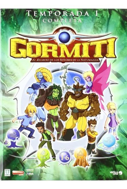 Gormiti: El Regreso De Los Señores De La Naturaleza - Temporada 1 [DVD]