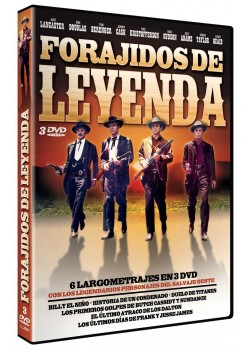 PACK FORAJIDOS DE LEYENDA (DVD)