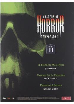 MASTERS OF HORROR: TEMPORADA II. VOLUMEN III
