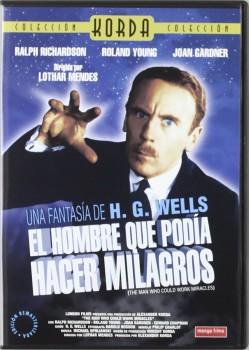 EL HOMBRE QUE PODIA HACER MILAGROS (DVD)