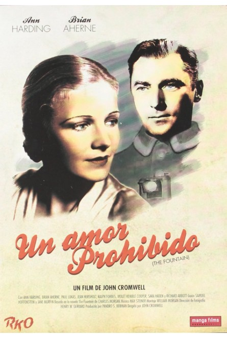 Un Amor Prohibido (Rko) [DVD]