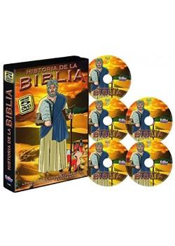 HISTORIAS DE LA BIBLIA de Osamu Tezuka 5 DVDs