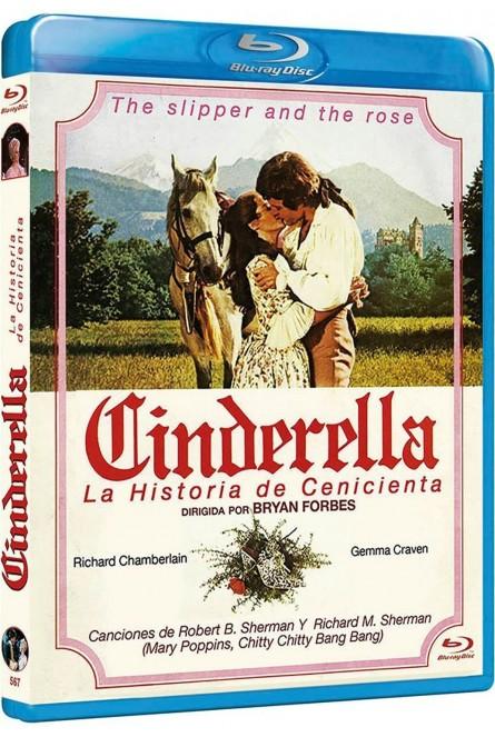 CINDERELLA: LA HISTORIA DE CENICIENTA (BLU-RAY)