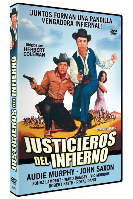 JUSTICIEROS DEL INFIERNO (DVD)