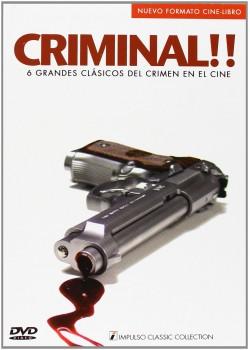 Criminal [6 DVDs] 6 Grandes clásicos del cine del Crimen