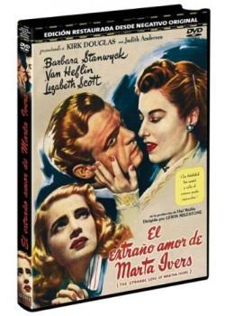 EL EXTRAÑO AMOR DE MARTHA IVERS (DVD)
