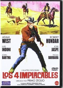 Los Cuatro Implacables [DVD]