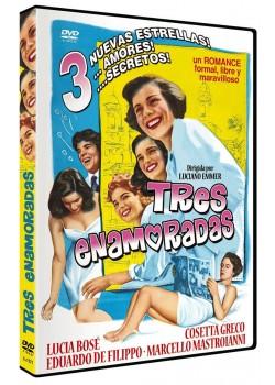 TRES ENAMORADAS (DVD)