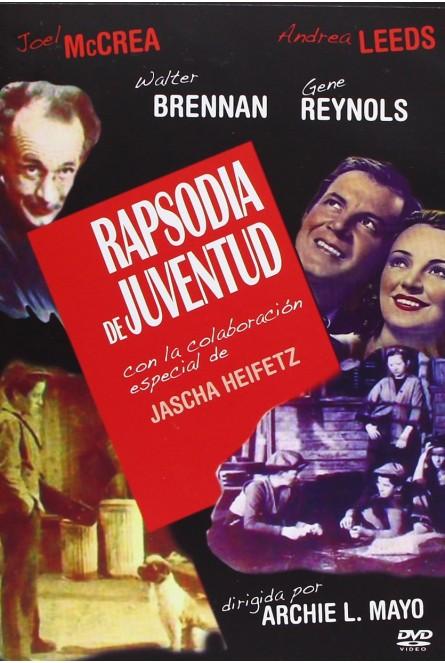 RAPSODIA DE JUVENTUD (DVD)