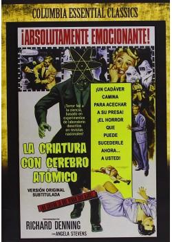 LA CRIATURA CON EL CEREBRO ATÓMICO (DVD)