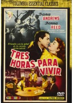 TRES HORAS PARA VIVIR (DVD)