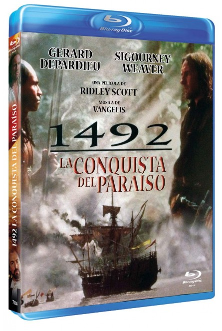 1492: LA CONQUISTA DEL PARAÍSO (BLU-RAY)