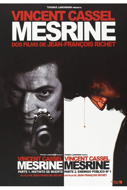 PACK MESRINE: PARTE 1 + PARTE 2 (DVD)