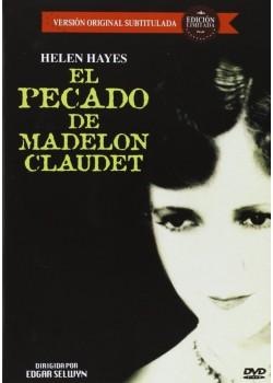 EL PECADO DE MADELON CLAUDET (VOS) (DVD)