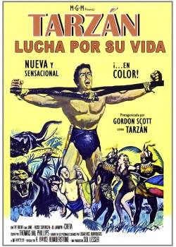 Tarzán Lucha Por Su Vida [DVD]