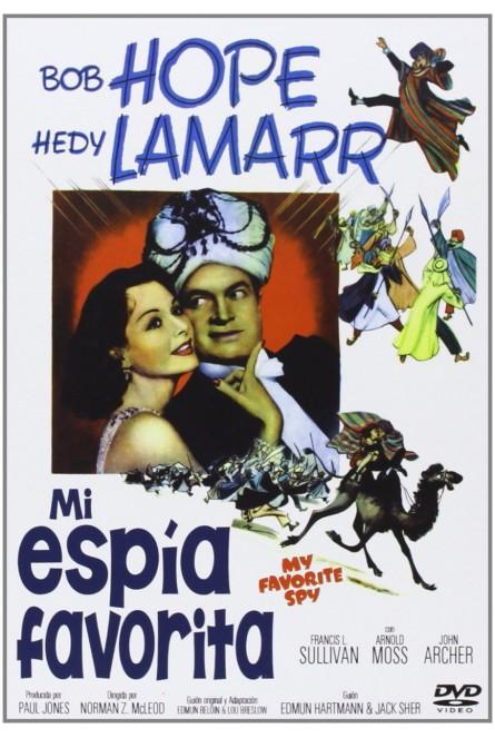 MI ESPÍA FAVORITA (DVD)