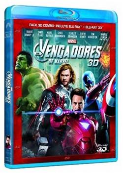 Los Vengadores (3D + 2D) [Blu-ray]