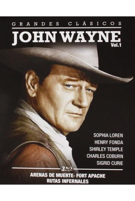 PACK JOHN WAYNE VOL 1 (BLU-RAY)