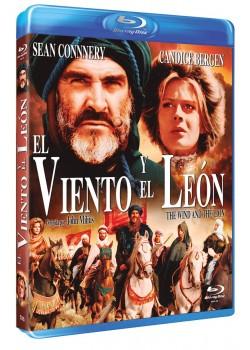 EL VIENTO Y EL LEON (BLU-RAY)