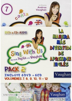 SING WITH US PACK 2 (7-8-9-10-11-12) (DVD)