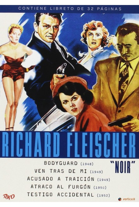 RICHARD FLEISCHER - NOIR (DVD)
