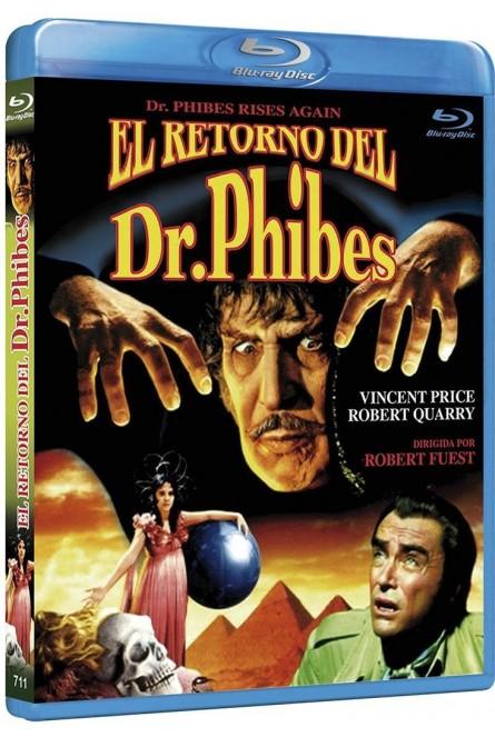 EL RETORNO DEL DR. PHIBES (BLU-RAY)