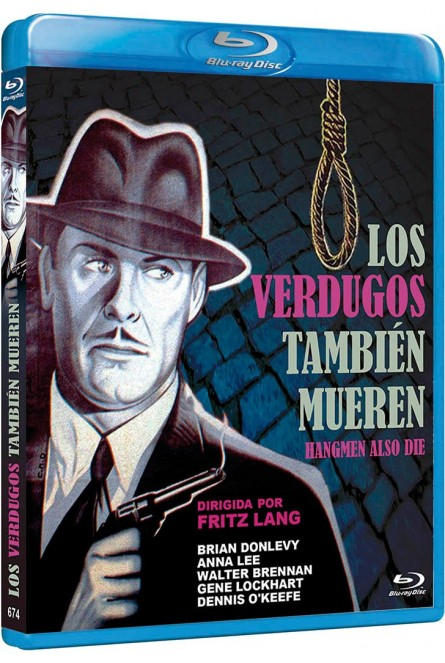 LOS VERDUGOS TAMBIEN MUEREN (BLU-RAY)