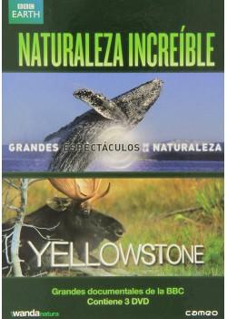 PACK NATURALEZA INCREÍBLE (DVD)