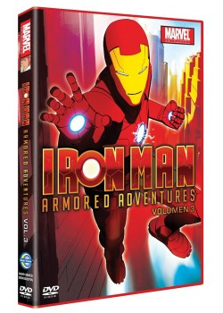 Iron Man Armored Adventures Tº1 Vol.3 [DVD]