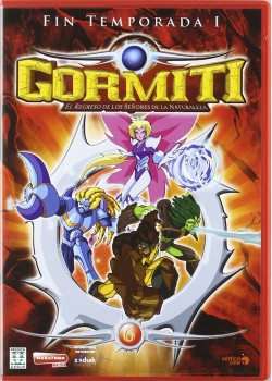 Gormiti (1ª Temporada 2ª parte) [DVD]