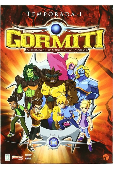 Gormiti 1ª Temp. Vol. 1+2+3+4 [DVD]