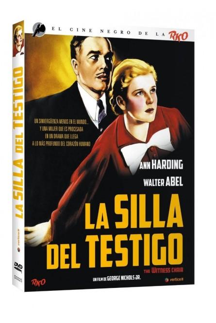 CINE NEGRO RKO: LA SILLA DEL TESTIGO (VOS) (DVD)