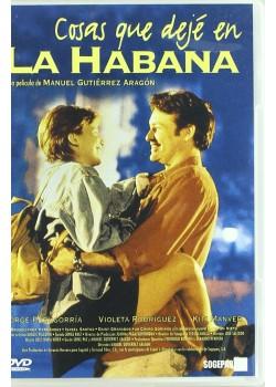 COSAS QUE DEJE EN LA HABANA (DVD)