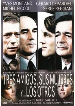 Tres Amigos, Sus Mujeres Y... Los Otros (Vincent, François, Paul Et... Les Autres) [DVD]