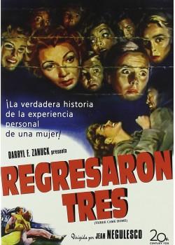 REGRESARON TRES (DVD)