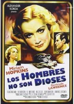 LOS HOMBRES NO SON DIOSES (DVD)