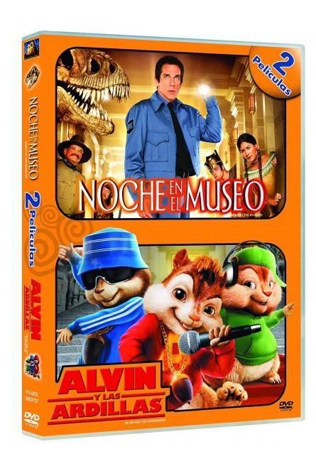 ALVIN Y LAS ARDILLAS + NOCHE EN EL MUSEO (DVD)