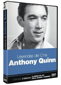 ANTHONY QUINN. LEYENDAS DEL CINE (DVD)