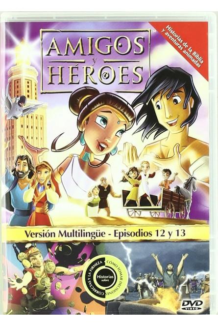 Amigos y Heroes Episodios 12 y 13  [DVD]