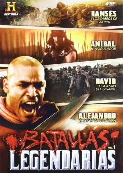 Pack Batallas Legendarias (4 Dvd)