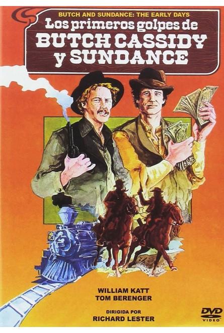 LOS PRIMEROS GOLPES DE BUTCH CASSIDY Y SUNDANCE (DVD)