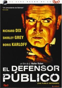 CINE NEGRO RKO: EL DEFENSOR PÚBLICO (VOS) (DVD)